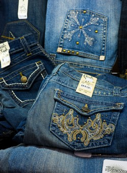 Some of the ladies jeans we carry include Houston and Cruel Girl.